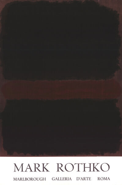 Mark Rothko, 'Marlborough Galleria D'arte Roma', 1970