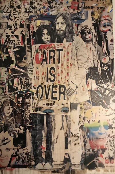 Mr. Brainwash, 'Art Is Over', 2010