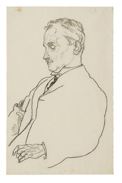 Egon Schiele, 'Portrait of Dr. Hugo Koller', 1918