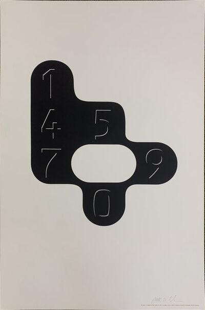 Peter Saville, 'The Letter B', 1994