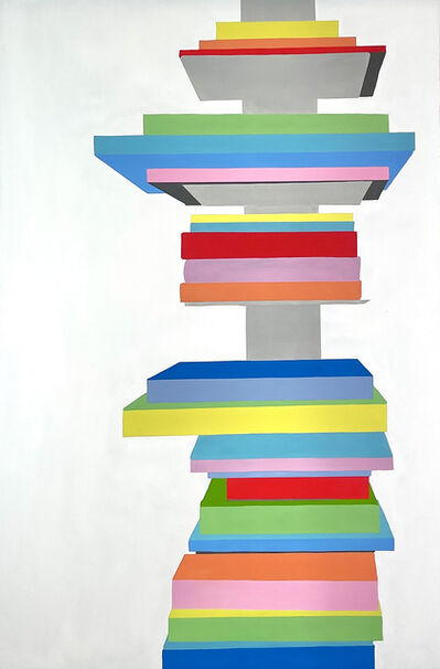 Patti Samper, 'Bookshelf', 2021