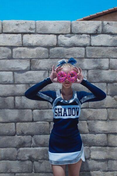 Rachel Moseley, 'Doughnut Cheerleader', 2017