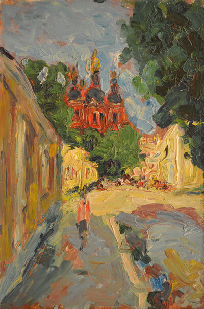 Aron Froimovich Bukh, 'Red church', 1991