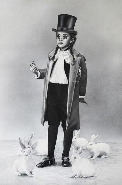 Zoé Byland, 'Girl and  Rabbits', 2019
