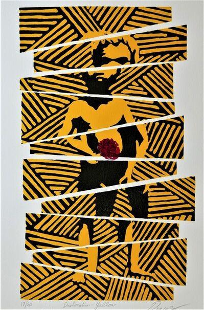 Lin Onus, 'Dislocation—Yellow', 1996