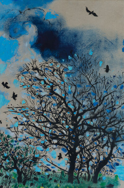 Philip Sutton RA, 'Tree with Rooks', ca. 2010