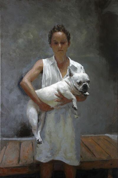 Rafel Bestard, 'Woman with dog', 2019