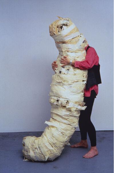 Jana Sterbak, 'Absorption (Work in progress)', 1995