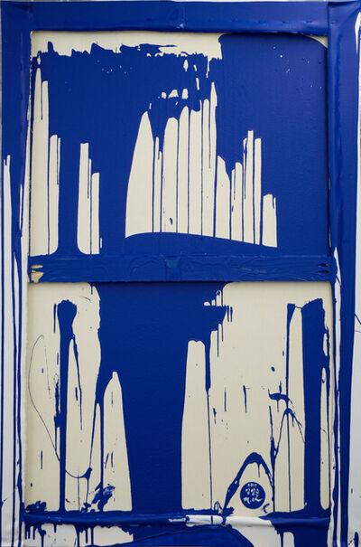 Mina Cheon, 'Unification (Yves Klein Blue Dip)', 2017