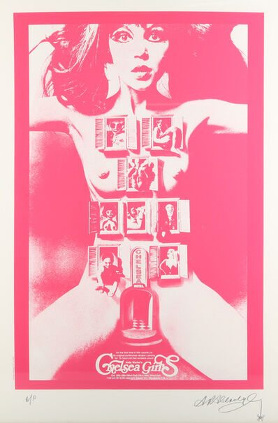 Alan Aldridge, 'Chelsea Girls (Pink)', 2005