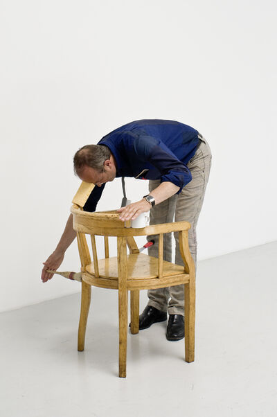Erwin Wurm, 'one minute sculpture', 2007
