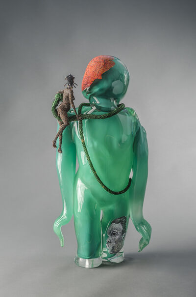 Joyce J. Scott, 'Buddha (Earth)', 2013