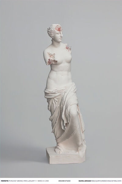 Daniel Arsham, 'Rose Quartz Eroded Venus of Milo', 2019