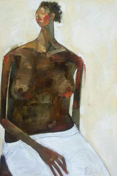 Olivia Mae Pendergast, 'Seated Nude', 2017