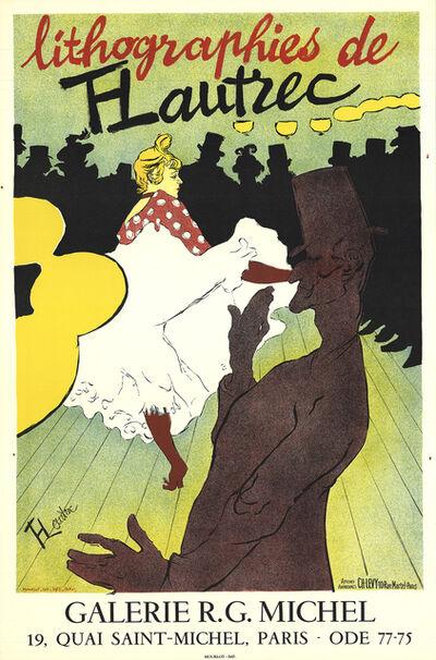 Henri de Toulouse-Lautrec, 'Lithographies de T-Lautrec', 1957