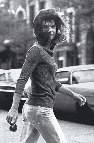 Ron Galella, 'Windblown Jackie', 1971