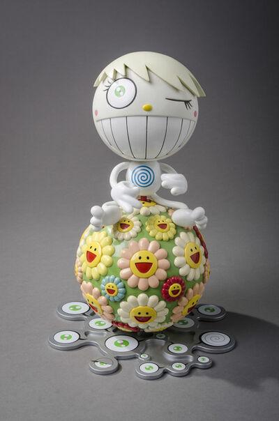 Takashi Murakami, 'Oval Mister Wink (Peter Norton Christmas Project)', 2000