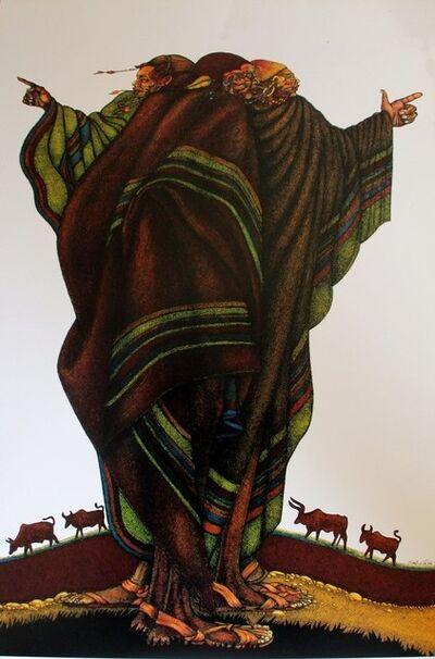 Charles Bibbs, 'The Herdsmen', 1990