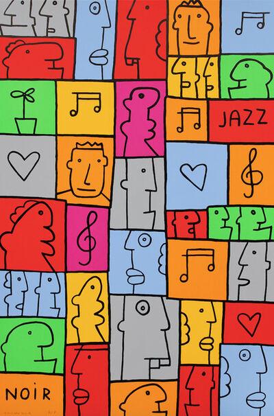 Thierry Noir, 'Jazz'