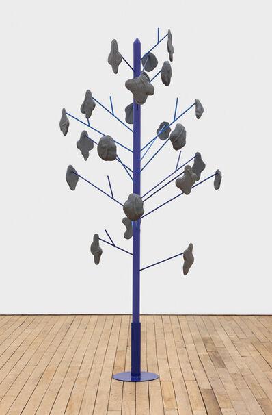 Pam Lins, 'swipe puddle tree', 2018