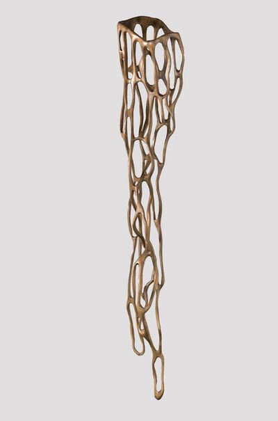 Caprice Pierucci, 'Charcoal Vessel, 2018 Pine 98h x 20w x 12d in', 2018