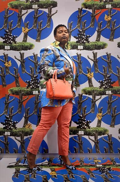 Yvonne Osei, 'Serena in Yoked (Blue)', 2018