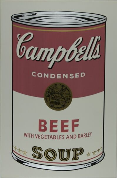 Andy Warhol, 'Campbell's Soup I, Beef F&S II.49', 1968