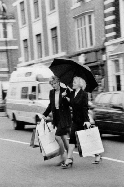 Alison Jackson, 'Marilyn and Diana Shopping', 2001