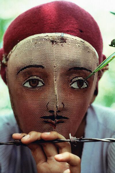 Susan Meiselas, 'Traditional Mask used in the Popular Insurrection, Monimbo, Nicaragua'