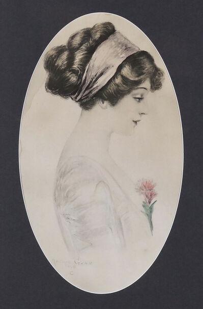 Archie Gunn, 'Profile of a Woman', 20th Century