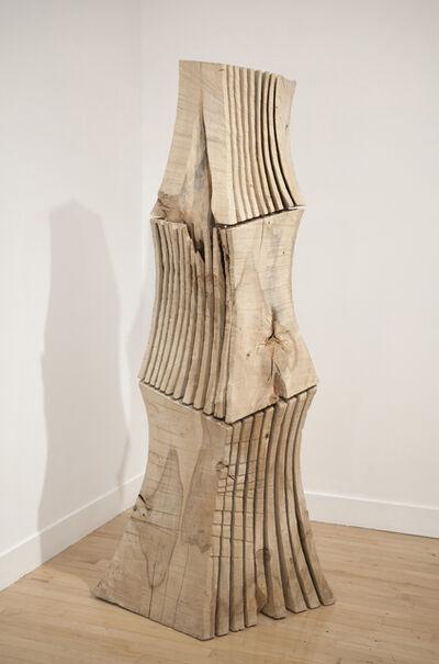 David Nash, 'Rip Cut Column', 1998