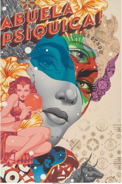 Tristan Eaton, 'The Psychic', 2015