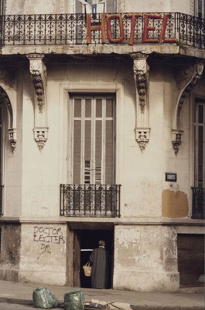"Facundo de Zuviría, 'From the series ""Estampas Porteñas"", ""Hotel Once""', 1991"