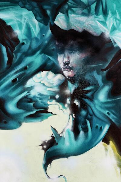 David Choe, 'Purple Ice And Dirty Snow', 2010