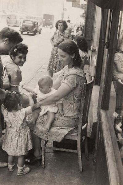 Helen Levitt, 'New York City, Seated Mother with Children', 1939