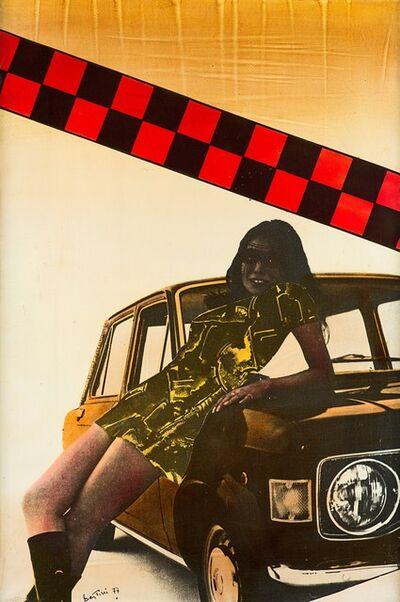 Gianni Bertini, 'Auto donna', 1977