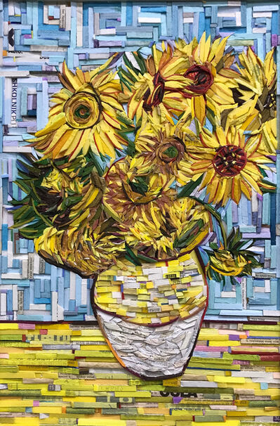 Kyu-Hak Lee, 'Monument-Still life of Sunflowers', 2018