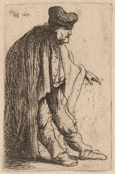 Rembrandt van Rijn, 'Beggar with His Left Hand Extended', 1631