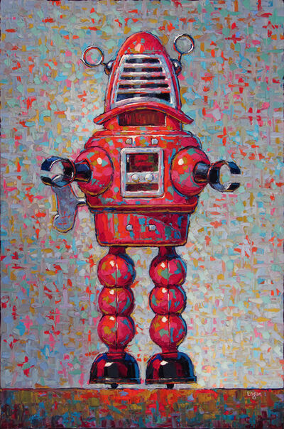 Raymond Logan, 'Tin Toy Robot Red'