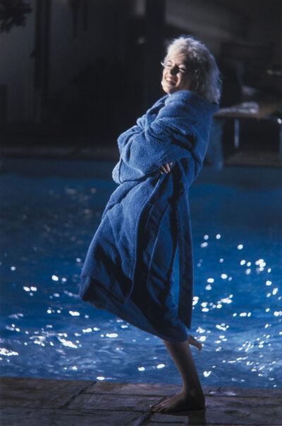 "Lawrence Schiller, 'Marilyn Monroe, ""Something's Got to Give:"" (Blue Robe)', 1962"