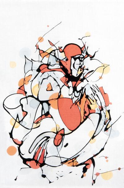 Mr. Jago, 'Orange Figure', 2008