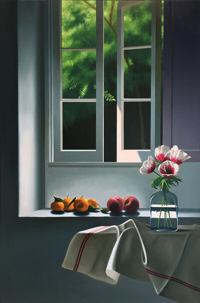 Bruce Cohen, 'Interior with Anemones and fruit', 2014