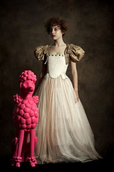 Romina Ressia, 'Portrait of a woman with her Dog', 2019