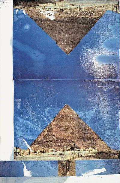 Robert Rauschenberg, 'Architecture', 1994