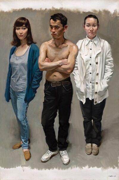 Chen Danqing, 'Three's Company', 2013