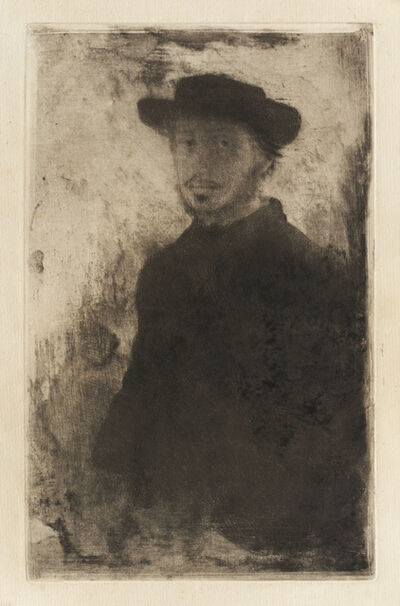 Edgar Degas, 'Self-Portrait', 1857