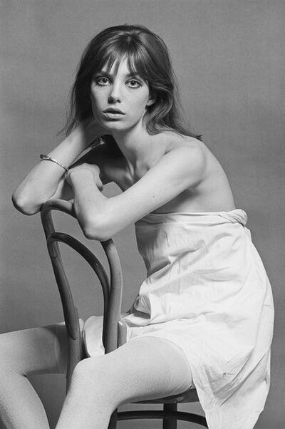 Eric Swayne, 'Jane Birkin sitting on a Chair', ca. 1963
