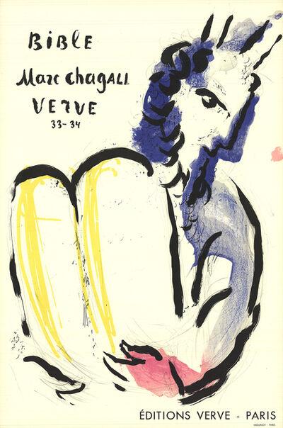 Marc Chagall, 'Bible Verve', 1956