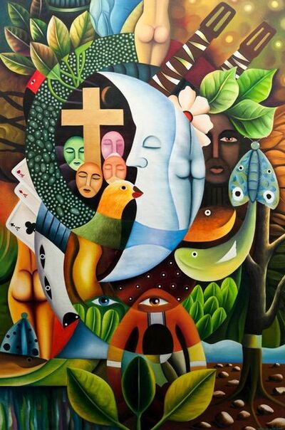 Clemente Segrera, 'Surrealist tropical landscape'