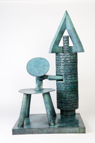 Parviz Tanavoli, 'Poet and chair III', 2009